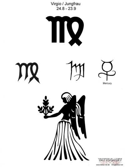 Татуировки девы знак зодиака дева
